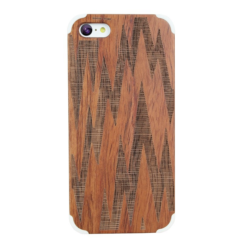 Unique Handmade Wood Hard Case for Apple iPhone 5 5s SE 6 6s plus Skin Laser Engraving Shell Cover Cases Real Wood