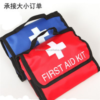Sports canvas first aid kit medicine bag for emergency