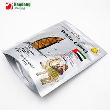 PA/NY Material and Heat Seal Sealing&Handle aluminum foil bags for cookies packaging