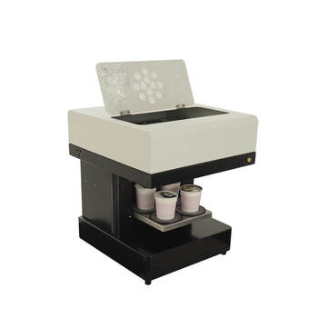 China Online Selling <strong>110</strong>- 220V Coffee Drink Printer With Edible Ink