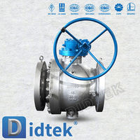 Didtek Stainless Steel Trunnion Ball Valve