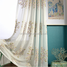 2017 Hot modern French sheer curtain