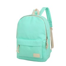 2016 Solid Color Women Backpack High Quality Cute Canvas Backpack Female School Bags For Teenagers Mochila