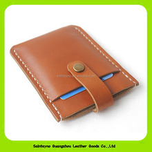 16377 Mini wallets hasp small purse 100% real leather wallet cridit business card case