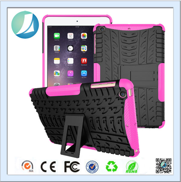 High Quality Fashion 3 In 1 Silicon Cover For iPad Air 2