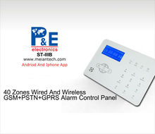 Two way 868MHz/433MHz CID protocol home alarm intruder system
