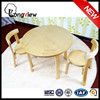 factory price IKEA simple style cheap birch bentwood round table and chairs 60x60x51.5cm