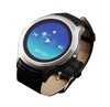 Circular Stainless Android smart watch Nano SIM Card,Wifi smart watch, 3G network mobile watch phones for iphone 6s
