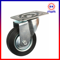 China Supplier Solid Wheel 4inch Cast Iron Castor Wheel Price