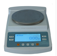 bench top electric digital weighing balance with weighing range 0-4 kg /5kg /6 kg readability 0.1g and 0.01g
