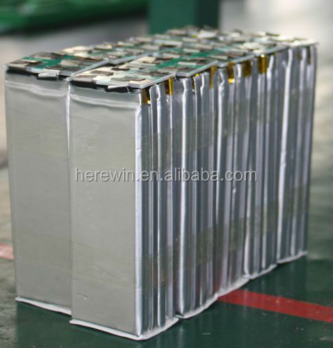 >2000 cycles 3.2v 20ah lifepo4 flat battery cell with BMS for forklift trucks,EV,golf cart ,rickshaw