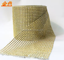 Wedding decorative 10 yards acrylic diamond mesh ribbon for decoration