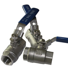 304 316 Stainless Steel Pipe Fittings A216 Wcb Ball Valve