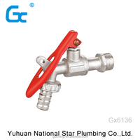 New style custom high quality factory price bibcock brass bibcock/water tap bibcock/faucet lock