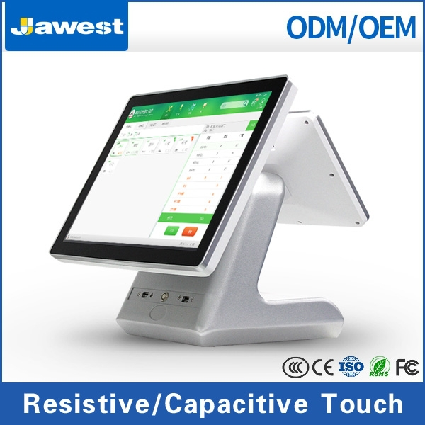 15 inch Touch Screen POS Chain Store Cash Register Windows POS terminal/Payment Terminal Factory Supply