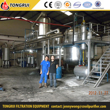 Exclusive techology negative pressure used motor oil distillation