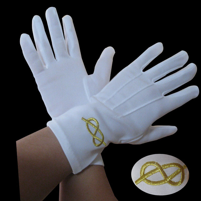 Jewelers Cotton white inspections gloves, Etiquette Gloves,work gloves