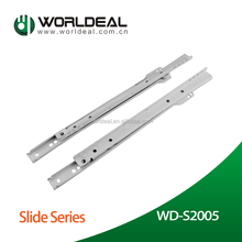 Europe type Installing drawer slide,power coating slide for drawer