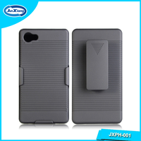 Hot seller holster back cover case for Sony z5mini with back clip