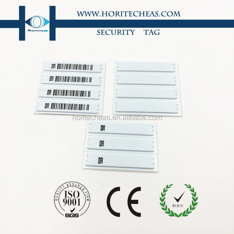 EAS 58Khz AM Soft Tags, DR Label Sticker, EAS Security Tag for Retail Stores Anti-theft