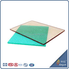 Best quality 5mm thickness plastic frosted panels for balcony