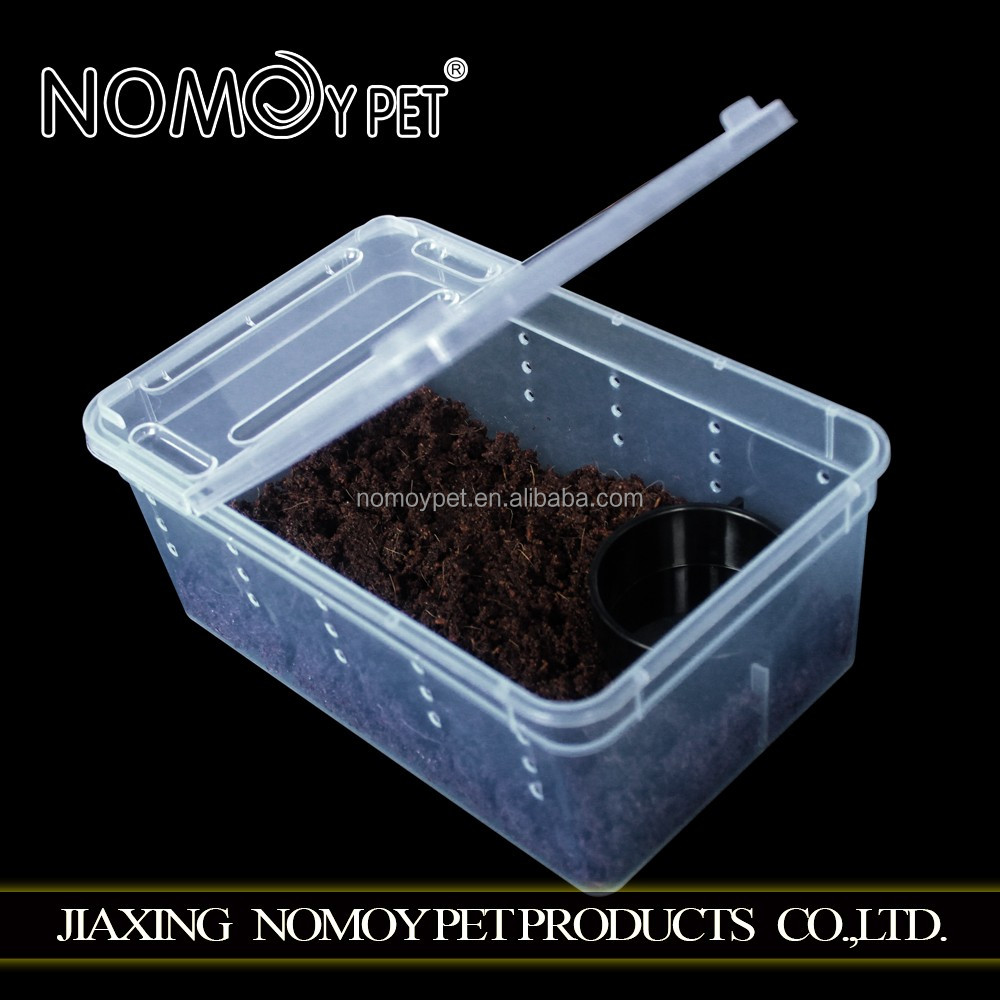 Nomo Portable plastic reptile cage breeding box, for insect and small reptile keeping