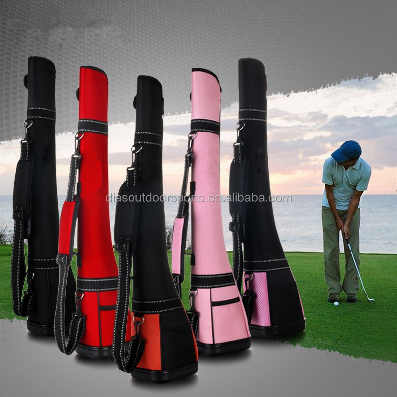 Brand New Sunday Golf Club Bag Travel Lightweight Carry Black Driving Range