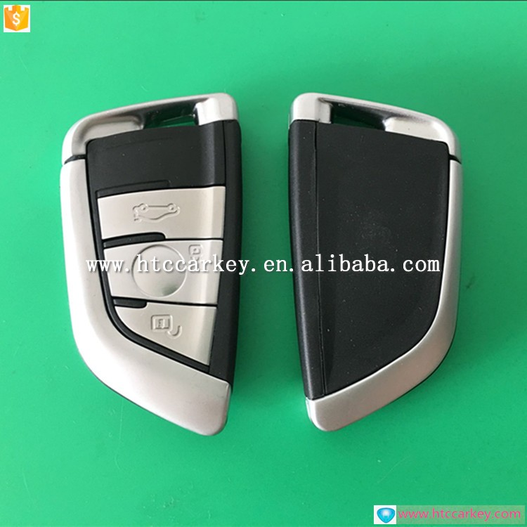 Hot sale BM 3 Button White Smart Key Cover with smart key