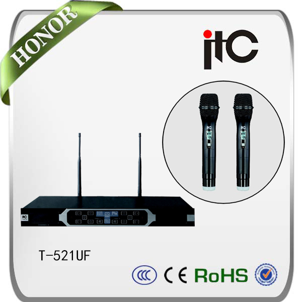 ITC T-521UF KTV room and conference uhf cordless microphone