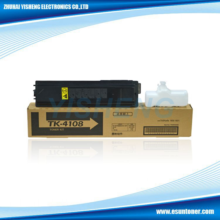 Wholesale toner cartridge TK4105 TK4108 toner cartridge for Taskalfa 1800/1801/2200/2201