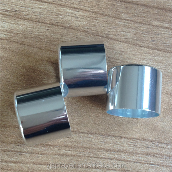 aluminum and aluminum alloy smooth closure/collar for perfume crimp pump