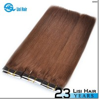 Hot Selling Remy Double Drawn Weft Full cuticles auburn hair weave