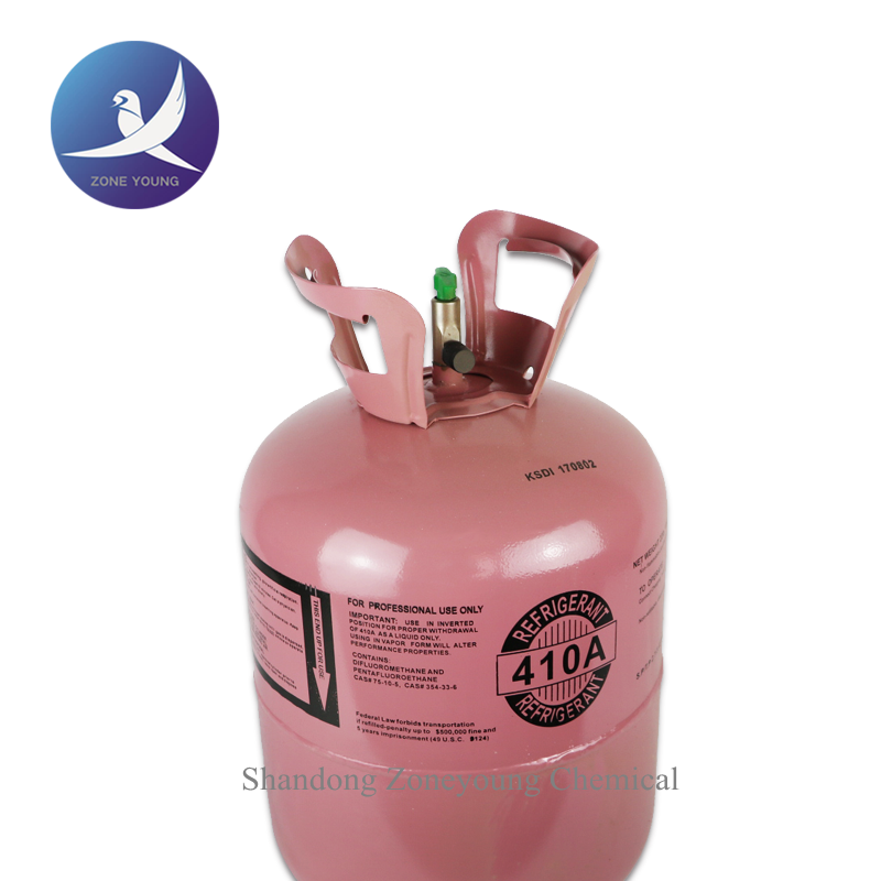 Air conditioning used R410 refrigerant gas,R410 gas