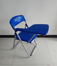 China supplier high quality cheap flexible folding chair with tablet