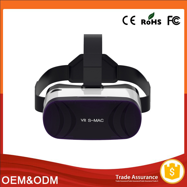 japan sexy video girl 3x video full hd vr box green glass lenses smart capacitive touch panel 3D glasses virtual reality headset