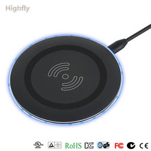 Newest 5W 10W fast wireless charging pad Qi magnetic wireless charger