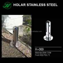 201 304 stainless steel glass handrail banister support