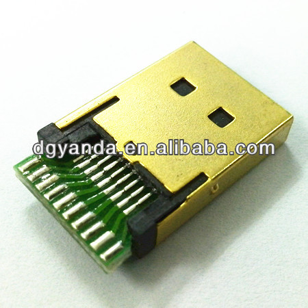 hdmi 19pin female lighting component converter connector