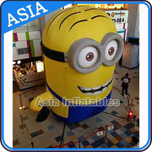 Customized advertising yellow carton character for sale