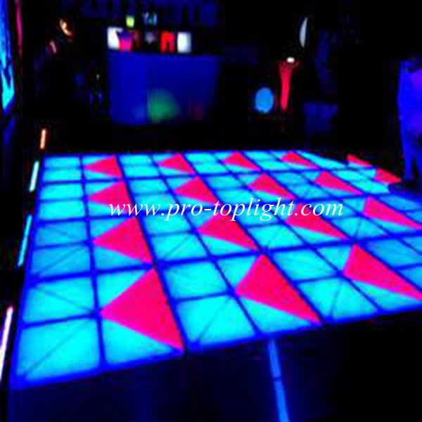 Guangzhou baiyun stage lighting equipment ip65 outdoor dance floor portable /led disco panel