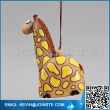 Ceramic Animal Bells : Giraffe, Elephant, Lion, Monkey