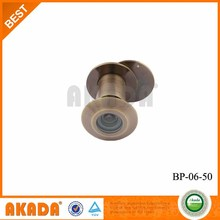 Wireless camera peephole brass Door Viewer