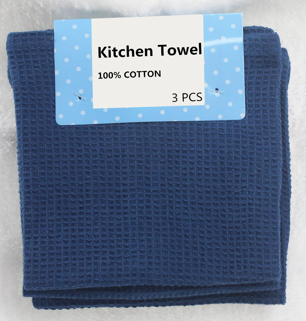 2015 Factory Wholesale Waffle 30*30cm kitchen tea towel 100% <strong>cotton</strong>