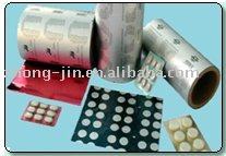 PTP ALU BLISTER FOIL FOR PHARMACEUTICAL PACKING