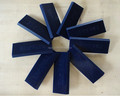 Blue Color Squeegee Rubber Blade 90A