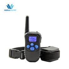Petrainer PET998DRB 330yds Rainproof Remote Control Anti-Bark Dog E Collar For Pet Training with Beep/Vibration/Shock