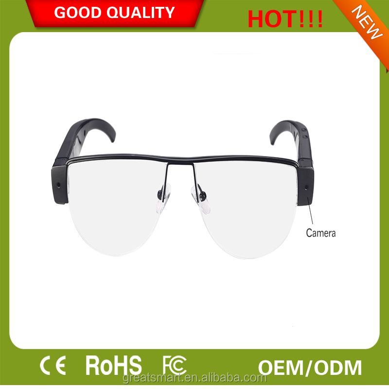 HD 720P Glasses SPY Hidden DVR Camera/ Taking photo/motion detection/Recording video/Recording Audio