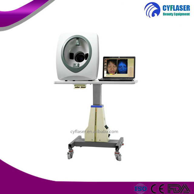 Online wholesale 3d face camera magic mirror facial skin analyzer machine with CE