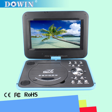 "manufacture wholesale OEM nice quality USB TV GAME SD FM 9"" Portable DVD Player MP5 Player With Game FM TV USB & MC Card Port"