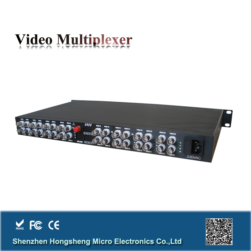 32 channel +1 reverse data single mode dual fiber 40km cable tv transmitter and receiver
